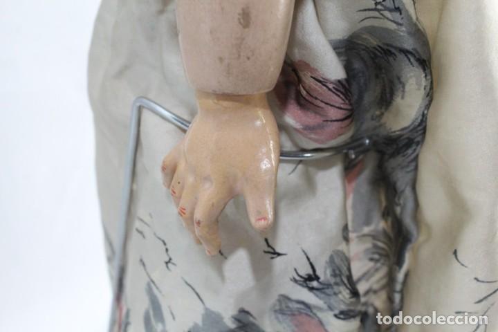 Muñecas Composición: Ref T8 - Muñeca composición Andadora. Unis France 8 - Composition doll 52cm - Foto 9 - 224894031