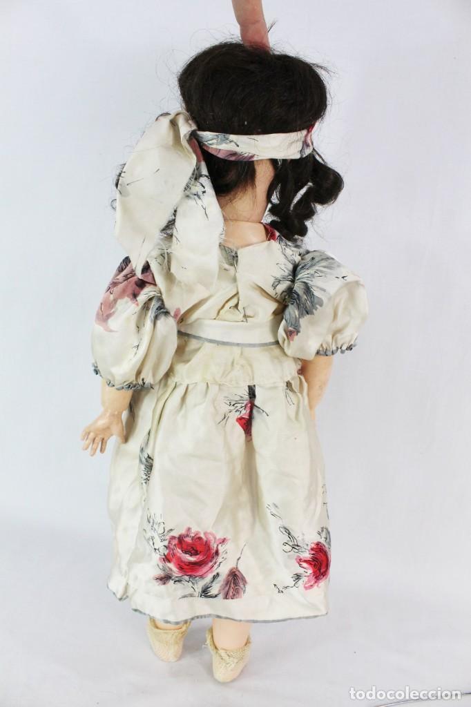 Muñecas Composición: Ref T8 - Muñeca composición Andadora. Unis France 8 - Composition doll 52cm - Foto 2 - 224894031