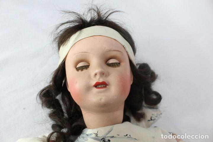 Muñecas Composición: Ref T8 - Muñeca composición Andadora. Unis France 8 - Composition doll 52cm - Foto 14 - 224894031