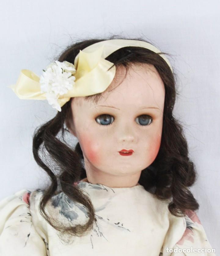 Muñecas Composición: Ref T8 - Muñeca composición Andadora. Unis France 8 - Composition doll 52cm - Foto 4 - 224894031