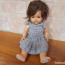 Bambole Composizione: ANTIGUA MUÑECA AMERICANA DE MADAME ALEXANDER EN CARTON PIEDRA, OJOS DURMIENTES. COLECCIONABLE!. Lote 244862700