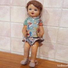 Bambole Composizione: ANTIGUA MUÑECA EN CARTON PIEDRA. Lote 244864780