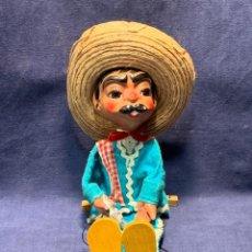 Muñecas Composición: MARIONETA CANTINFLAS MARIO MORENO MEXICO MEJICO PLASTICO COMPOSICION PINTADA MITAD S XX 42X19X13.5C. Lote 262441870
