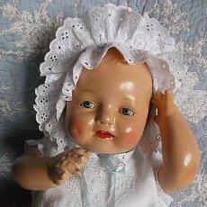 Muñecas Composición: EXTRAORDINARIO BABY DIMPLES DE HORSMAN DOLLS DEL AÑO 1928, ¡EL MÁS RISUEÑO!. Lote 286638078