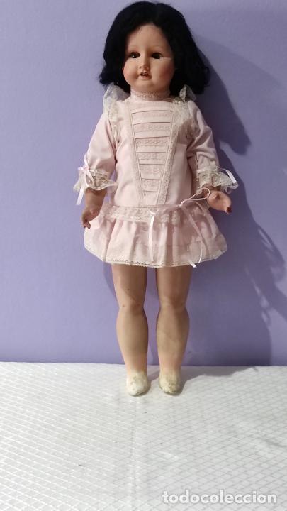 Muñecas Composición: Antigua muñeca de composición de 62 cm - Foto 2 - 134825150