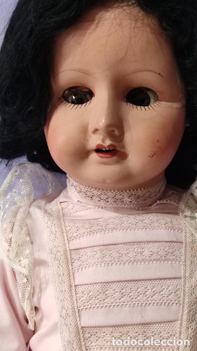 Muñecas Composición: Antigua muñeca de composición de 62 cm - Foto 5 - 134825150