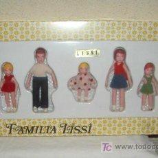 Muñecas Españolas Modernas - FAMILIA LISSI,CAJA ORIGINAL,A ESTRENAR - 145411261