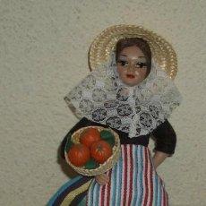 Muñecas Españolas Modernas: MUÑECA REGIONAL BEIBI,AÑOS 60. Lote 26947067