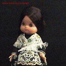 Muñecas Españolas Modernas: ANTIGUA MUÑECA AÑOS 1960 - MUÑECA REGIONAL ARAGON - MARCA EDURA - MIDE 30 CMS - OJOS MOVILES - MUY B. Lote 27521918