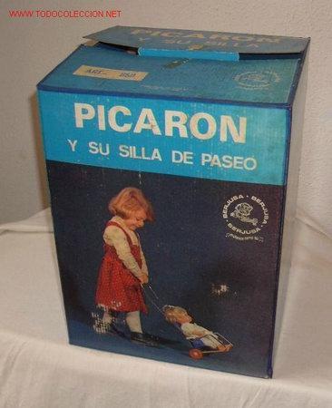 Muñecas Españolas Modernas: PICARÓN DE BERJUSA,AÑOS 60,CAJA ORIGINAL - Foto 2 - 22842608