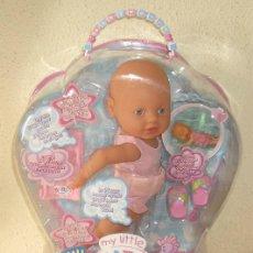 Muñecas Españolas Modernas: MY LITTLE BABY BORN,NADADORA,CAJA ORIGINAL,ZAPF CREATION,AÑO 2006,A ESTRENAR. Lote 80795538