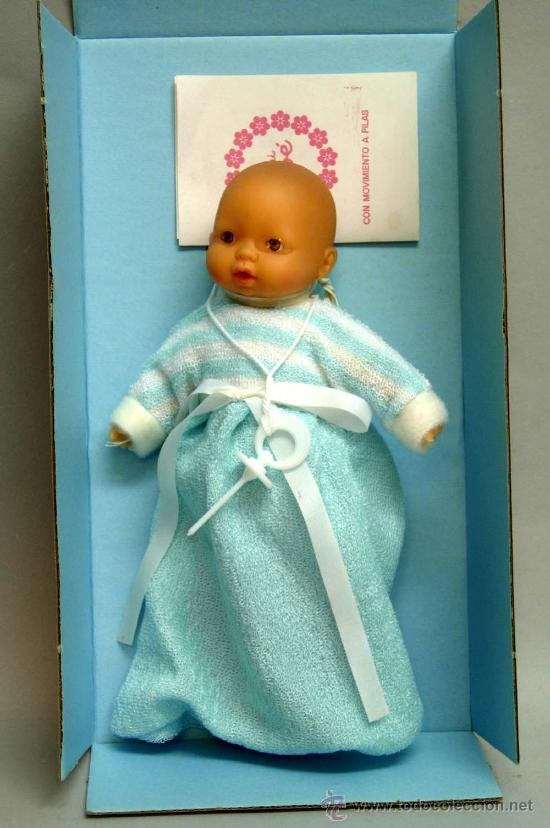 Muñecas Españolas Modernas: Mini bebe Bb Berjusa años 80 - Foto 2 - 119108806