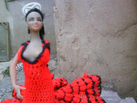 Muñeca Antigua Clasica Gitana Con Vestido D Comprar Otras