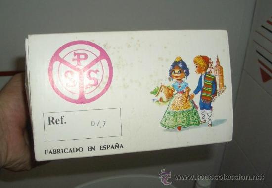 Muñecas Españolas Modernas: MUÑECA CON TRAJE DE HOGUERAS DE ALICANTE ,PÉREZ Y GALSEM,AÑOS 60 - Foto 3 - 20542558