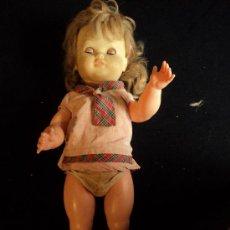 Muñecas Españolas Modernas: ANTIGUA MUÑECA. 55 CM ALT. VER FOTOGRAFIAS. Lote 27303923