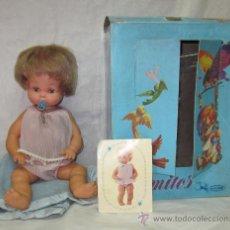 Muñecas Españolas Modernas: MIMITOS DE VICMA,CAJA-CUNA ORIGINAL,AÑOS 60. Lote 26963776