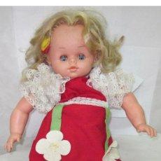 Muñecas Españolas Modernas: MUÑECA GUARDAPIJAMA,DE MUÑECAS ALFONSO,AÑOS 60. Lote 27006309