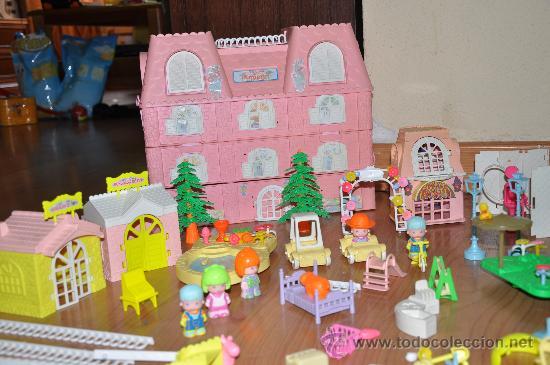 Casa jard n de pinypon pin y pon con muchos comprar for Casas de juguete para jardin baratas