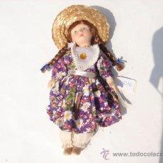 Muñecas Españolas Modernas: MUÑECA PORCELANA.. Lote 28305258