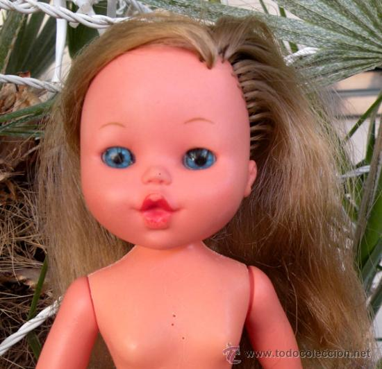 Antigua Muñeca Core Desnuda Rubia Con Ojos Vendido En Venta