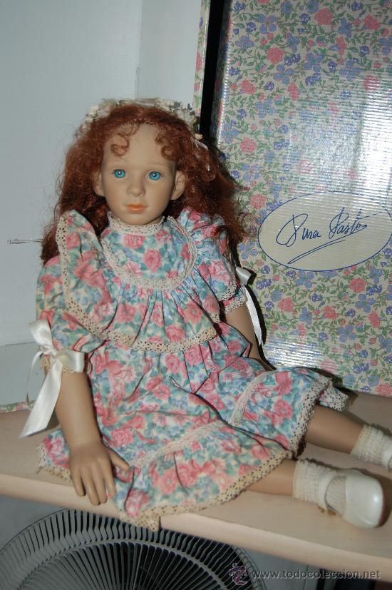 Muñecas Españolas Modernas: muñeca de colección pura pastor en vinilo - Foto 10 - 28525211