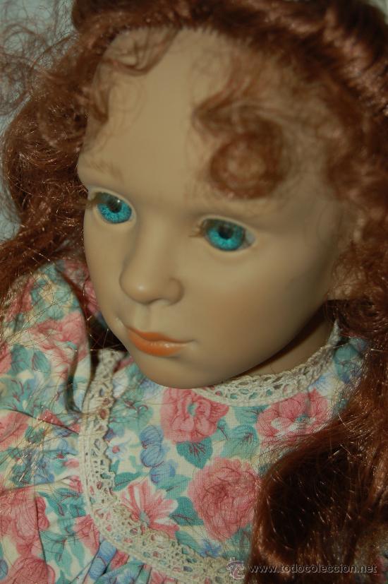 Muñecas Españolas Modernas: muñeca de colección pura pastor en vinilo - Foto 9 - 28525211