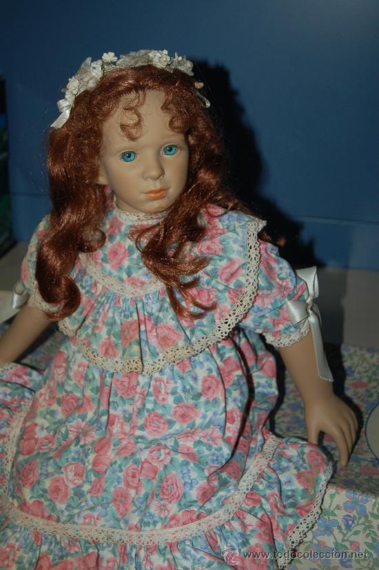 Muñecas Españolas Modernas: muñeca de colección pura pastor en vinilo - Foto 7 - 28525211