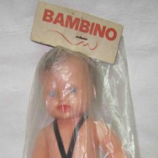 Muñecas Españolas Modernas - BAMBINO DE INDUSTRIAS MIBER,BOLSA ORIGINAL,AÑOS 60,A ESTRENAR - 29194703