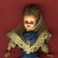 Muñecas Españolas Modernas: MUÑECA , MUÑEQUITA CON TRAJE REGIONAL, MIDE 13 CMS. , ORIGINAL .. Lote 29374721