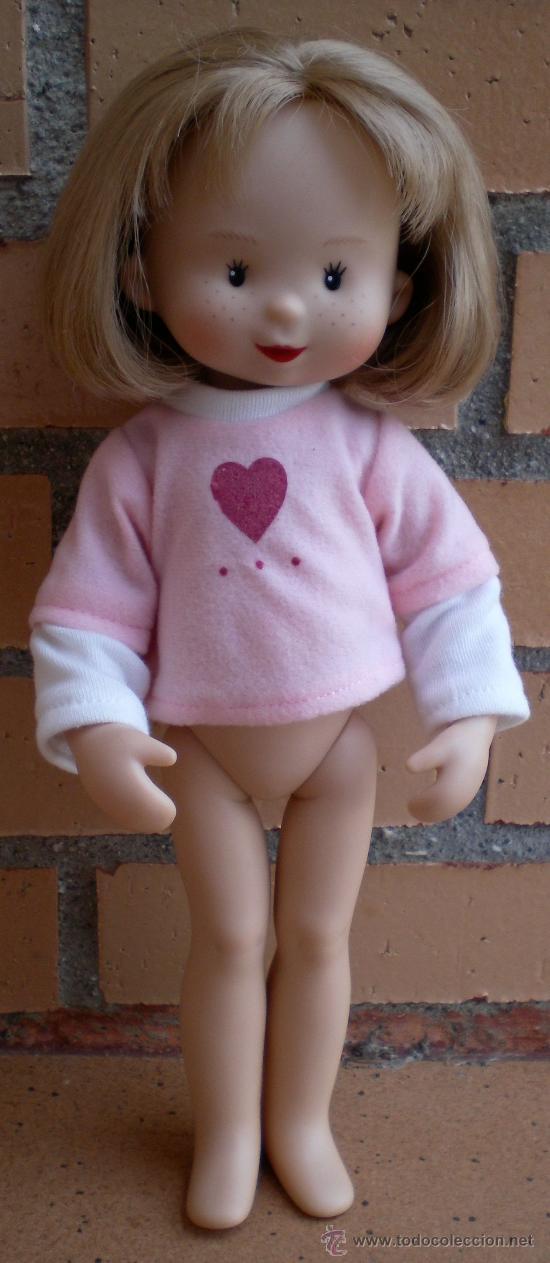 Muñecas Españolas Modernas: Muñeca Mariquita Model, camiseta rosa - Foto 2 - 32203029