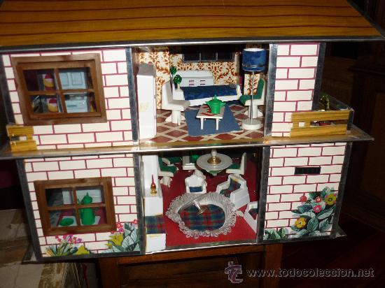 Muñecas Españolas Modernas: CHALET DE LISSI DE GULLEM Y VICEDO FINALES 60 ÚNICO Y CASI COMPLETO AGARRATE EL LABIO Y EL PELUQUÍN - Foto 3 - 32292786