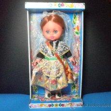 Muñecas Españolas Modernas: MUÑECA FALLERA VALENCIANA DE PSS - NUEVA - AÑOS 70. Lote 35702480
