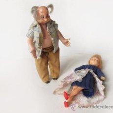 Muñecas Españolas Modernas: ABUELO DE LA FAMILIA HOGARIN Y CHACHA. Lote 36102858