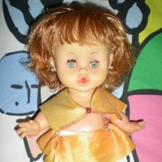 Muñecas Españolas Modernas: MUÑECA ANTIGUA EN COMPLETA DE ORIGEN AÑOS 60 DE DURPE. Lote 36342248