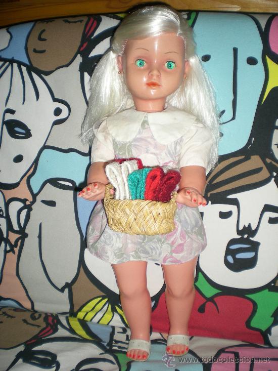 Muñecas Españolas Modernas: preciosa muñeca marisol años 63 de jesmar bernabeu 57 cm completa muy dificil de encontra!!!.... - Foto 17 - 36821848