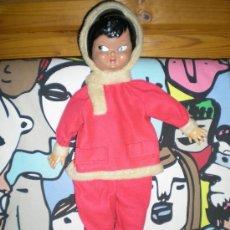Moderne spanische Puppen - Muñeco guarda pijamas cara de celuloide años 1960 florido? nueva lee descripcion 70 cm - 35905099