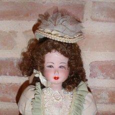 Muñecas Españolas Modernas: VINTAGE MUÑECA DE PORCELANA (FANAS AÑOS 70). Lote 37746418