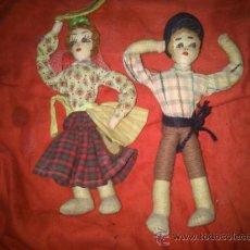 Muñecas Españolas Modernas: MUÑECOS REGIONALES DE TRAPO. Lote 38320693