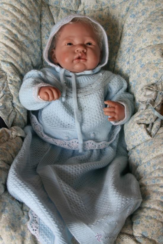 Muñecas Españolas Modernas: muñeco bebe reborn molde de antonio juan - Foto 2 - 139595926