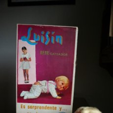 Muñecas Españolas Modernas: LUISIN GATEADOR ICSA 1967 EN CAJA FUNCIONANDO (VER VIDEO). Lote 39297541