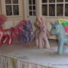 Muñecas Españolas Modernas: LOTE DE 3 MY LITTLE PONY ORIGINALES HASBRO. Lote 39368489