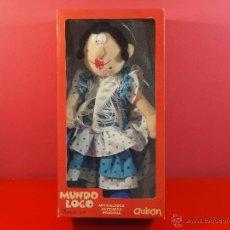 Muñecas Españolas Modernas - MUÑECA SEVILLANA MUNDO LOCO DE QUIRON - 39808809