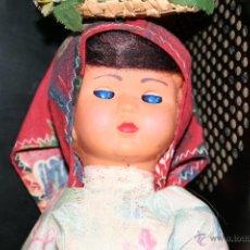 Muñecas Españolas Modernas - antigua muñeca celuloide ojos durmientes - 40089154