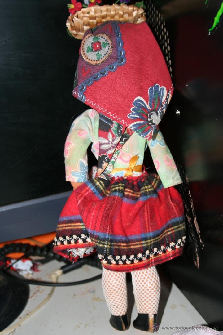 Muñecas Españolas Modernas: antigua muñeca celuloide ojos durmientes - Foto 2 - 40089154