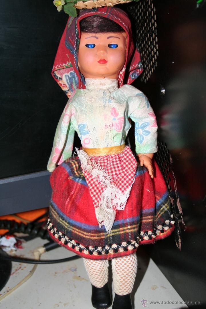 Muñecas Españolas Modernas: antigua muñeca celuloide ojos durmientes - Foto 3 - 40089154