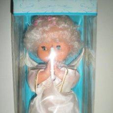 Muñecas Españolas Modernas: ANGEL DE LA GUARDA O DEL CARIÑO DE MUÑECA ESPAÑOLA AÑOS 70 DE JUGUETERIA CERRADA EXCELENTE. Lote 40286137