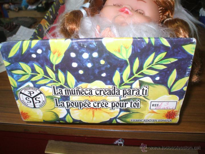 Muñecas Españolas Modernas: Muñeca de sobre cama y guarda camison,esta nueva nunca sacada de la caja, marca PSS (ver fotos ) - Foto 2 - 40414922