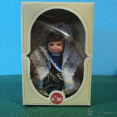 Muñecas Españolas Modernas: MUÑECA ALICANTINA-FABRICADO EN ESPAÑA MARCA FOLK-CAJA ORIGINAL. Lote 42307049