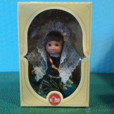 Muñecas Españolas Modernas: MUÑECA ALICANTINA-FABRICADO EN ESPAÑA MARCA FOLK-CAJA ORIGINAL. Lote 42307053