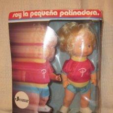 Muñecas Españolas Modernas: MINI-PATY,SOY LA PEQUEÑA PATINADORA,JESMAR,CAJA ORIGINAL,FUNCIONANDO,A ESTRENAR. Lote 42915038
